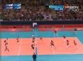 奥运视频-阿金拉德沃快攻重扣 女排美国VS韩国