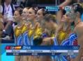 奥运视频-西班牙超强韵律感 花游集体技术自选
