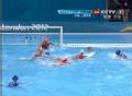 奥运视频-娜迪亚抛球击框反弹 水球女子排名赛