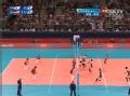 奥运视频-拉尔森攻杀后排 韩国自由人接球无果