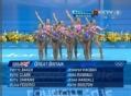 奥运视频-英国队翩舞若精灵 花游集体技术自选