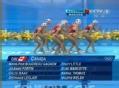 奥运视频-加拿大队主题新颖 花游集体技术自选