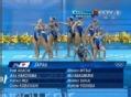 奥运视频-日本舞蹈注重细节 花游集体技术自选