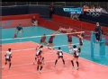 奥运视频-美国队拦网以牙还牙 女排美国VS韩国