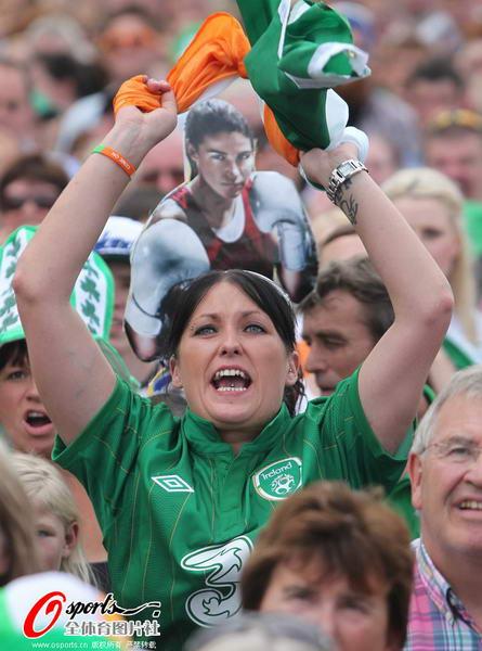 奥运 爱尔兰人/奥运图:爱尔兰女拳击手夺冠爱尔兰人激动
