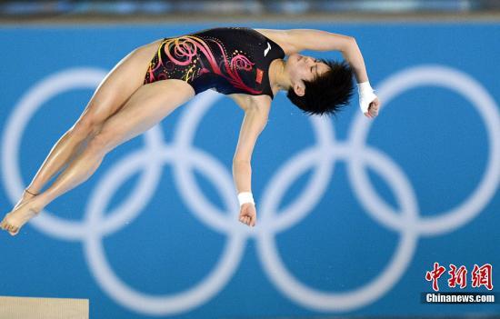 陈若琳成功卫冕十米台 帮中国收获奥运第200金