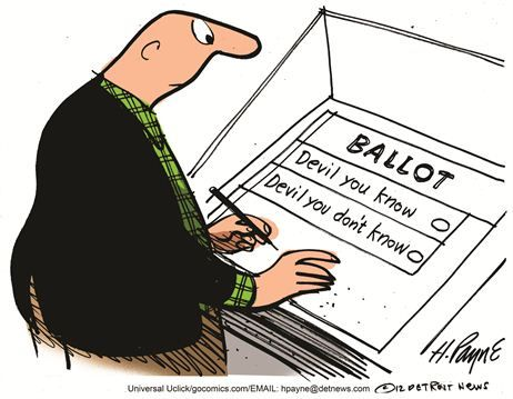招沽权�y�b:n�yne_在一些选民眼中,所谓美国大选,不过是两恶相权取其轻罢了.townhall.