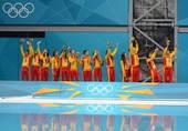奥运图:美国水球克西班牙 西班牙队队员