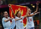 奥运图:手球黑山共和国晋级决赛 身披国旗