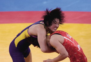自由式摔跤女子63公斤级