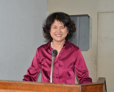 驻尼泊尔大使夫人阮蔚出席尼女性作家新书发布仪式(组图)