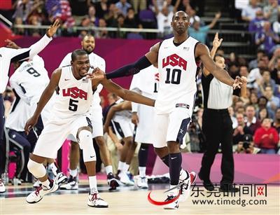 吉诺比利能重演2004年雅典奥运独取29分,率队击败美国男篮的那一幕吗?科比手感火热