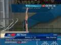 奥运视频-胡亚丹转体入水微瑕 跳水10米台决赛