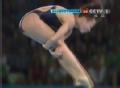 奥运视频-胡亚丹向后翻腾转体 跳水10米台决赛