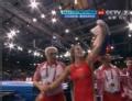 沃罗耶娃夺冠视频-华丽拉地扣腿 绝杀锁定金牌