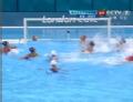 奥运视频-斯蒂文斯击水面球 水球美国VS西班牙