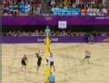 奥运视频-切鲁蒂网前截击 沙排男子巴西VS德国