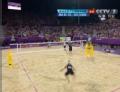 奥运视频-雷戈网前吊高球 沙排男子巴西VS德国