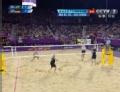 奥运视频-瑞科曼网前轻推 沙排男子巴西VS德国