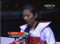 奥运视频-女子跆拳道遗憾摘银 侯玉琢:太紧张