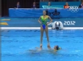奥运视频-英国队高难度托举 花游集体自选决赛