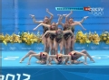 俄罗斯花游夺金视频-快节奏舞出高分 团体卫冕