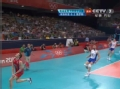 奥运视频-自由人界外飞身救球 俄罗斯腿功强悍