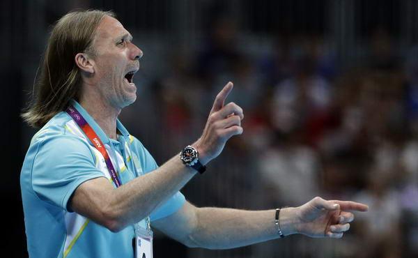 奥运图:瑞典险胜进男子手球决赛 瑞典主帅