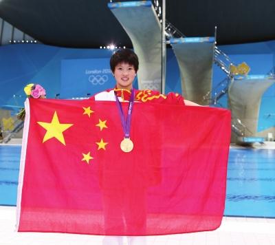 陈若琳是中国女子跳水队的定心丸
