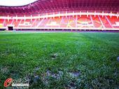 图文:富力客场踩场 漂亮的球场