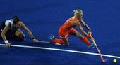 奥运图:曲棍球女子决赛 荷兰队夺冠