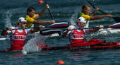 奥运图:男双皮艇俄罗斯摘金 水上运动
