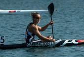 奥运图:女单皮艇新西兰夺冠 绽放笑容