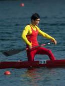 奥运图:男单划艇乌克兰折桂 中国选手李强