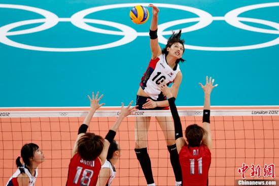 日本女排28年后再获奥运奖牌 韩国队第四不遗憾