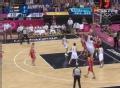 奥运视频-考恩篮下小跨步勾手 西班牙VS俄罗斯