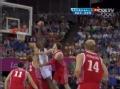 奥运视频-伊巴卡飞身放球入网 西班牙VS俄罗斯