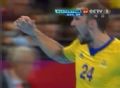 奥运视频-彼得森接妙传强攻 男手匈牙利VS瑞典