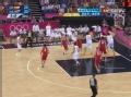 奥运视频-卡尔德隆中底线三分 西班牙VS俄罗斯