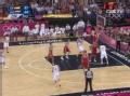 奥运视频-大加索尔伸长臂补扣 西班牙VS俄罗斯