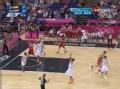 奥运视频-西班牙摘板快攻 大加索尔演隔人劈扣