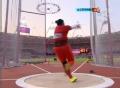 奥运视频-张文秀打网掷出73.81米 女子链球决赛