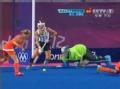 奥运视频-范德胡尔补射击死角 曲棍球女子决赛