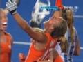 奥运视频-荷兰队短角球大力抽射 直挂球门死角