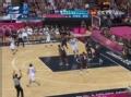 奥运视频-坎帕索空中假传虚晃 落地飙射三分球