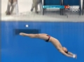 奥运视频-林跃完美第3跳获102.6高分 排名第1