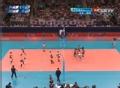 奥运视频-迫田沙织四号位扣杀 女排日本VS韩国