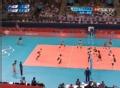 奥运视频-木村沙织跃起扣杀 女排日本VS韩国