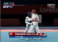 奥运视频-跆拳道80KG以上级 刘啸波晋级八强