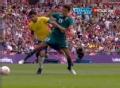 奥运视频-雷耶斯犯规染黄牌 男足巴西VS墨西哥